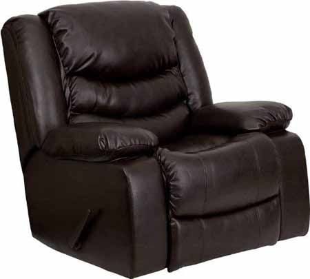 Flash Furniture Leather Rocker Recliner