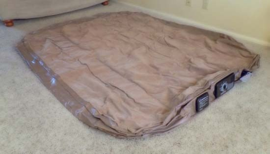 Lay the Mattress Down and Spread It