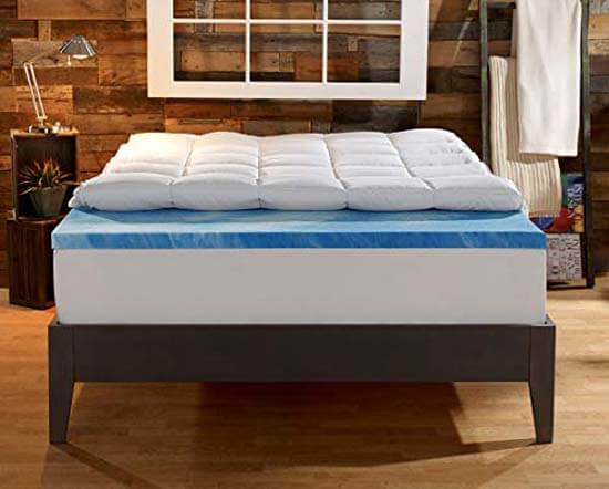 Natural Down & Down Alternative Mattress Toppers