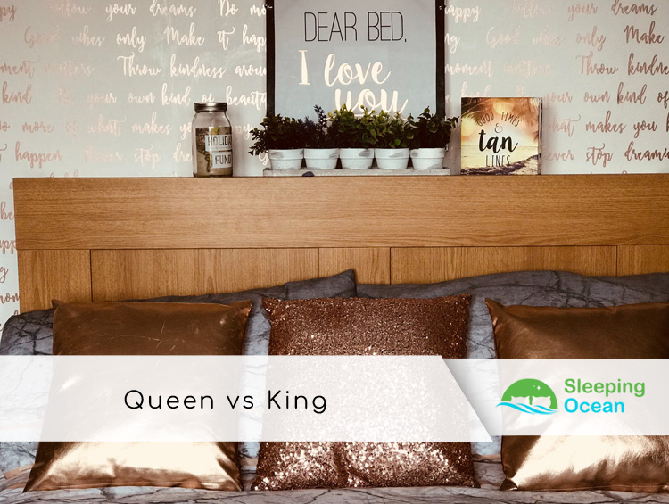 Queen Vs King Side To Side Mattress Size Comparison