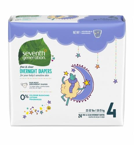 Overnight Diapers by Seventh Generation