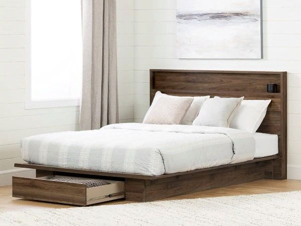 Tao Platform Bed by South Shore